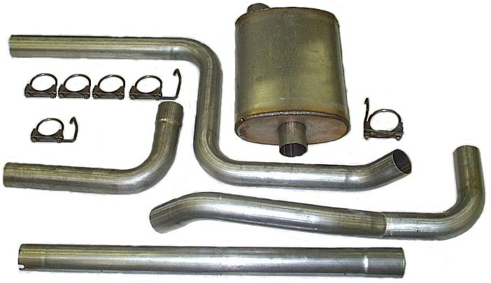 Heartthrob 2007228 2-1//4 In Cat-Back Single Exhaust System for Cavalier