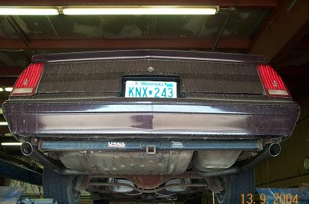 Ss Monte Carlo >> 1984-1988 Monte Carlo SS Cat-Back Dual Kit
